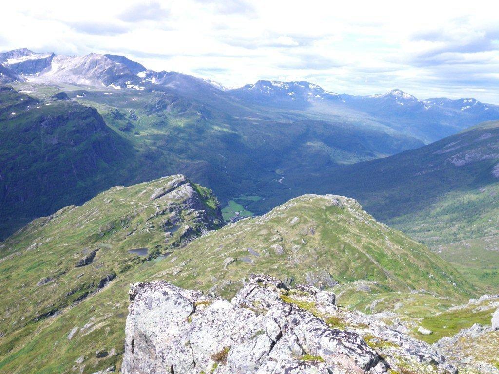 Tur til Kvennhjulfjellet (1127 m.o.h.)
