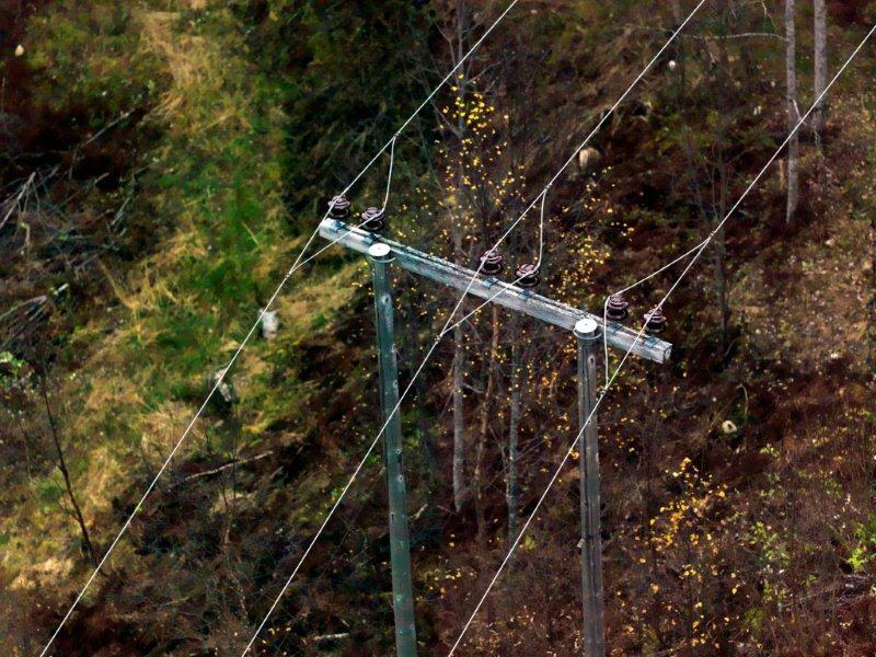 Normal straumforsyning i Todalen, unnateke Todalsøra