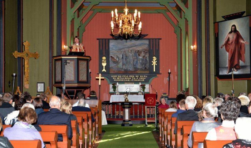 Jubileumsfeiringa for Todalen kyrkje