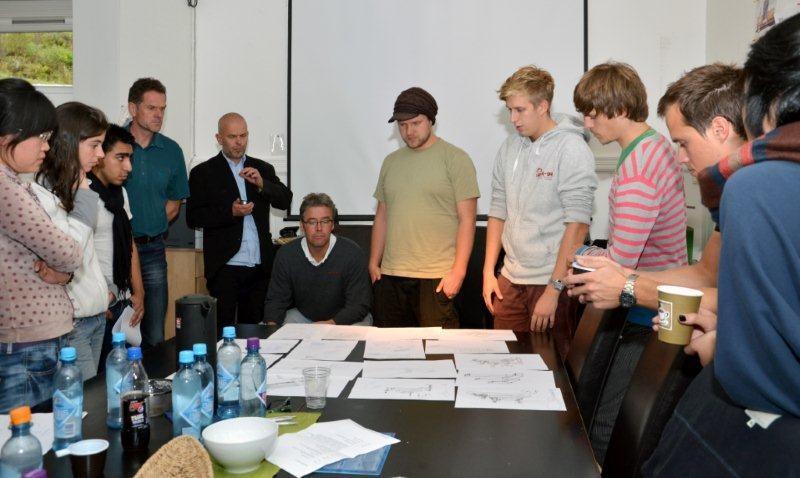 Student-workshop med MøreRoyal
