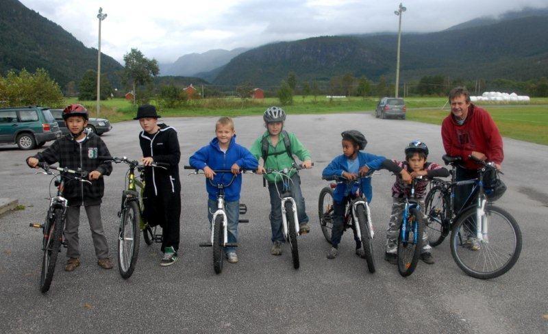 Sesongslutt  for  sykkeltrimmen