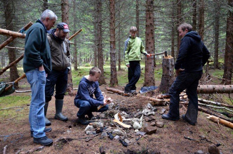 Camp Nordmøre på Sommarfjøsvollen