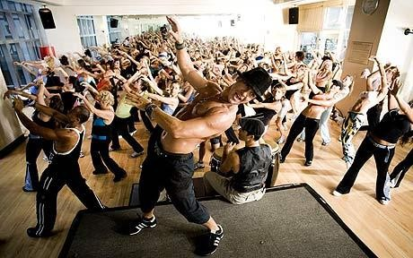 Zumba  for  born  og  ungdom