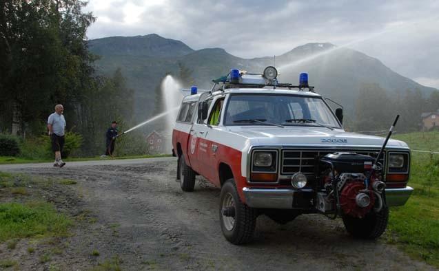 Det er no stor brannfare, og det er innført forbod mot open eld og bålbrenning.  Arkivfoto: Todalen.no