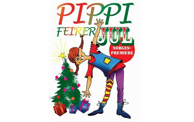 Pippi feirer jul i kulturhuset!!