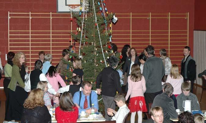 Juletrefest i 2005.  Arkivfoto: JOØ