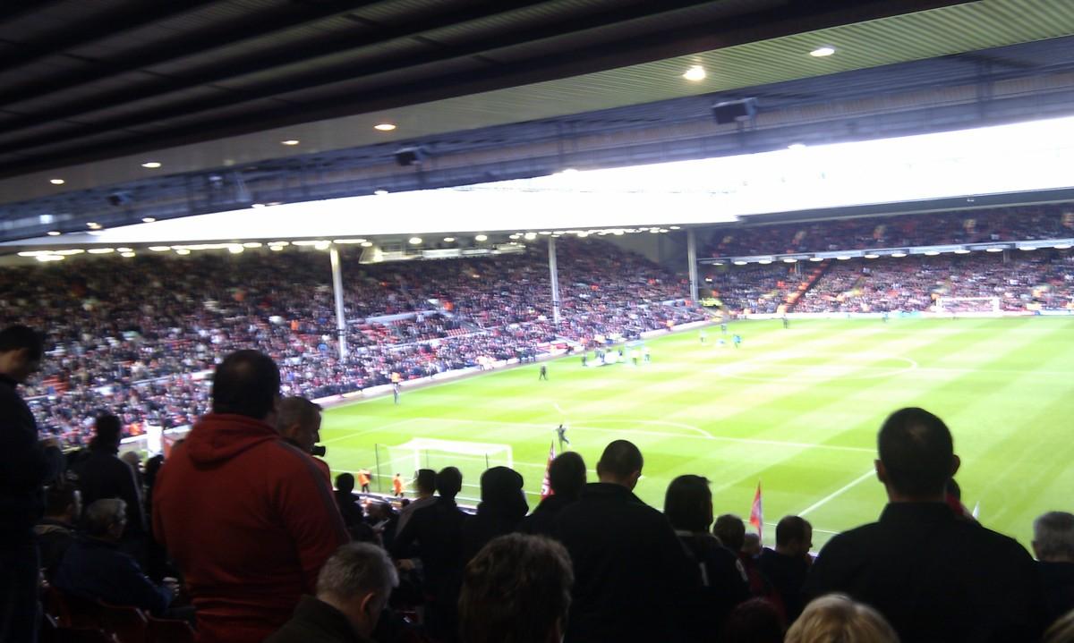 Reisebrev frå The Kop på Anfield