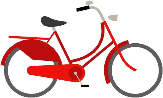 Fann att sykkelen!