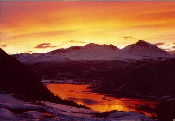 Månadens bilete: Vinterlys i Todalen