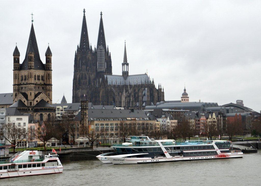 Den staselege Kölnerdomen