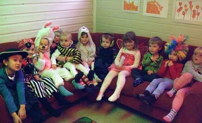 Karnevalstid i barnehagen