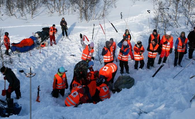 Snøskredvarsel for Trollheimen