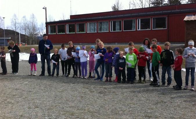 «Barn  av  regnbuen»  på  Stangvik  oppvekstsenter