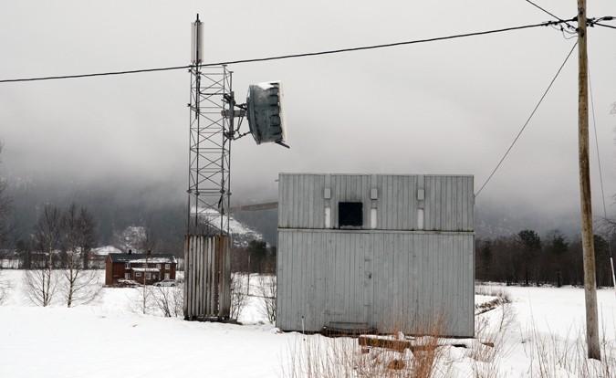 Telenors sentral i Todalen.  Arkivfoto: Jon Olav Ørsal
