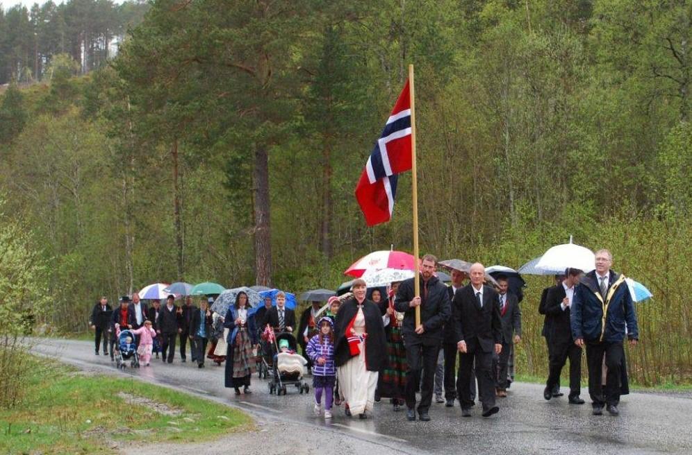 17.  maifeiring  på  Nordvik