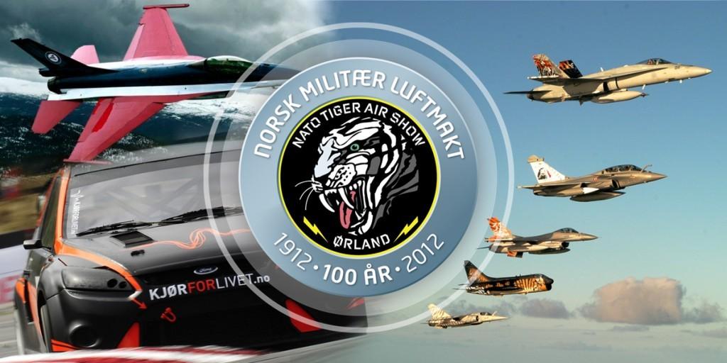 Åpen  dag  og  «Nato  Tiger  Air  Show  2012»  på  Ørland