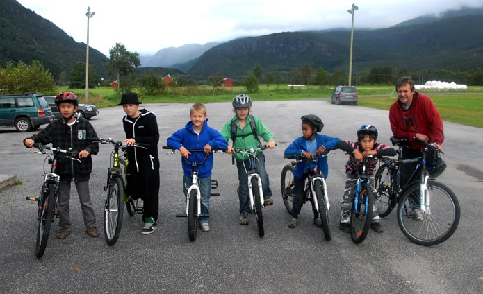 Sykkeltrimmen startar onsdag