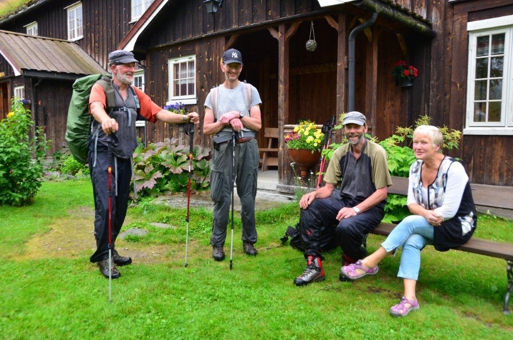 Høgsesong  for  fjellturismen