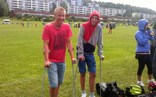 Norway  Cup  –  tysdagsrapport