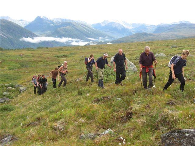 Frå Trollheimsmarsjen i 2008. Da var det 210 deltakarar på turen over fjellet.  arkivfoto: Jon Olav Ørsal