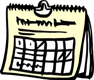 Slunken aktivitetskalender