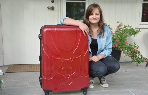 Astrid pakkar og dreg til USA