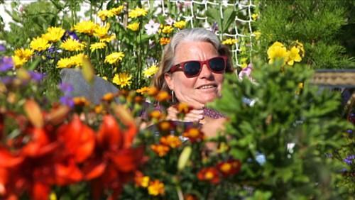 I hagen til Erna Kari i Bodø