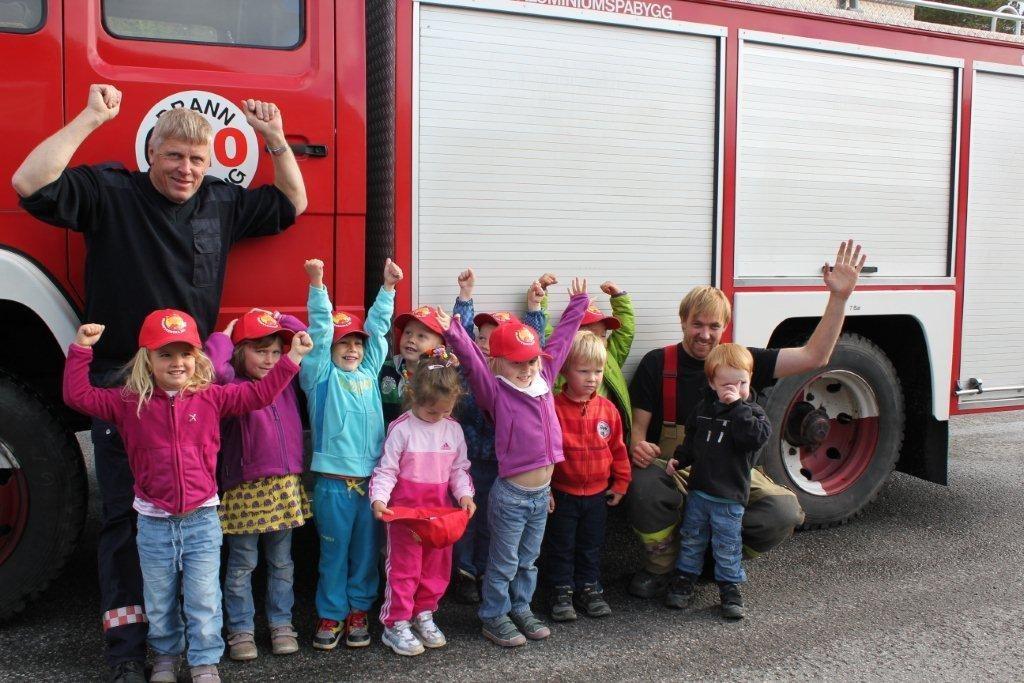 Brannvern i barnehagen, med utflukt