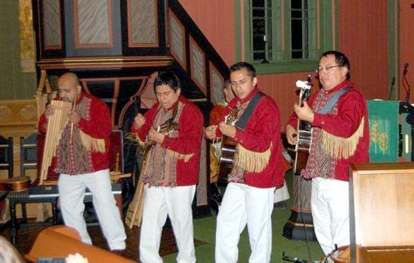 Frå Peru til Todalen på gudsteneste