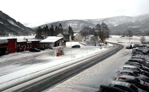 Den første snøen er i rute!