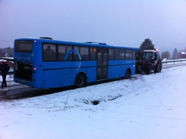 Busshavari  på  Nordvik