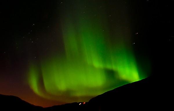 Årets bilete 2012: Nordlys over Gjeldnes
