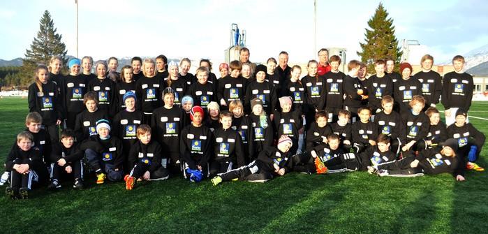 Svorka Energi-team med lokal deltakelse