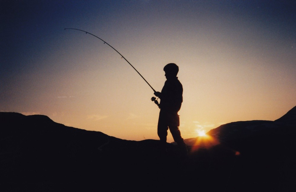 Månadens  bilete:  Fiskeren