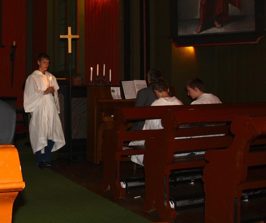 Lysmesse  og  nytt  kyrkjeår