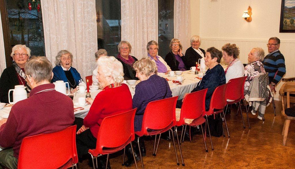 Juleavslutning etter 35 arrangement i 2012