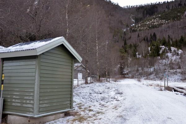 Bjøråa vassverk har vasstilsig frå Bjøråa som kjem frå Bjøråskarsvatnet.  Foto: Jon Olav Ørsal