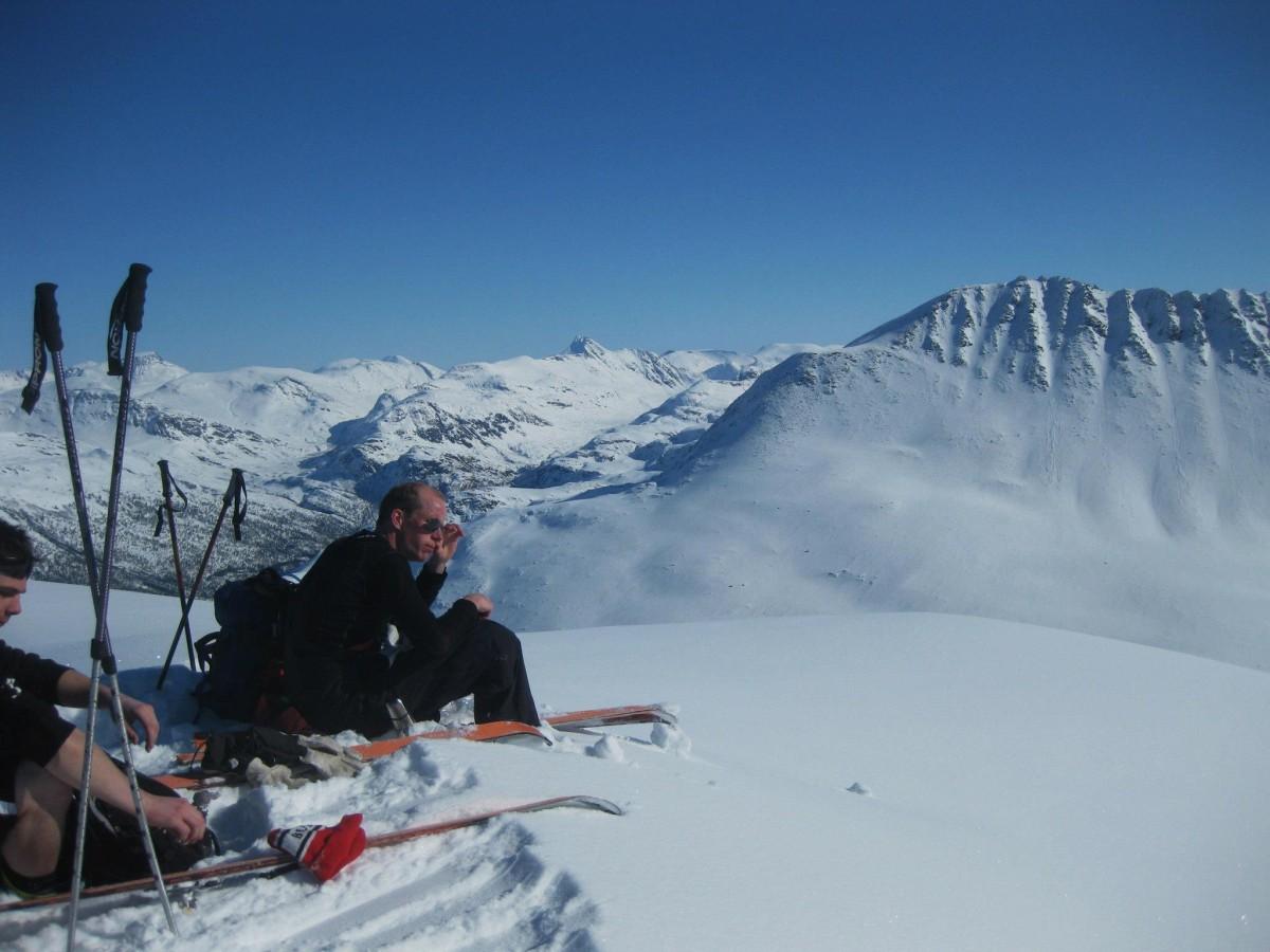 Langfredagstur til Snøfjellet (1330 m.o.h)
