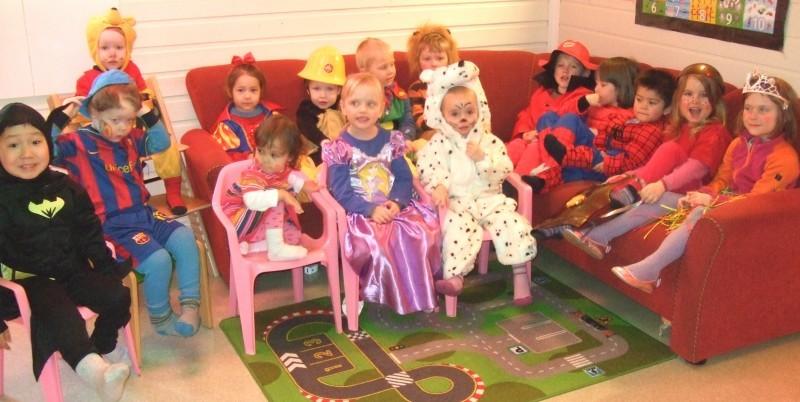 Karneval i barnehagen