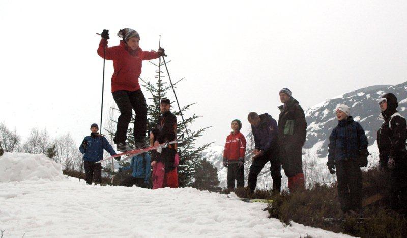 Skjærtorsdag:  Seterrenn  nr  85  og  «after  ski»