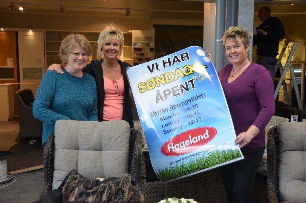Torsdag kl 10 opnes døra til Hageland