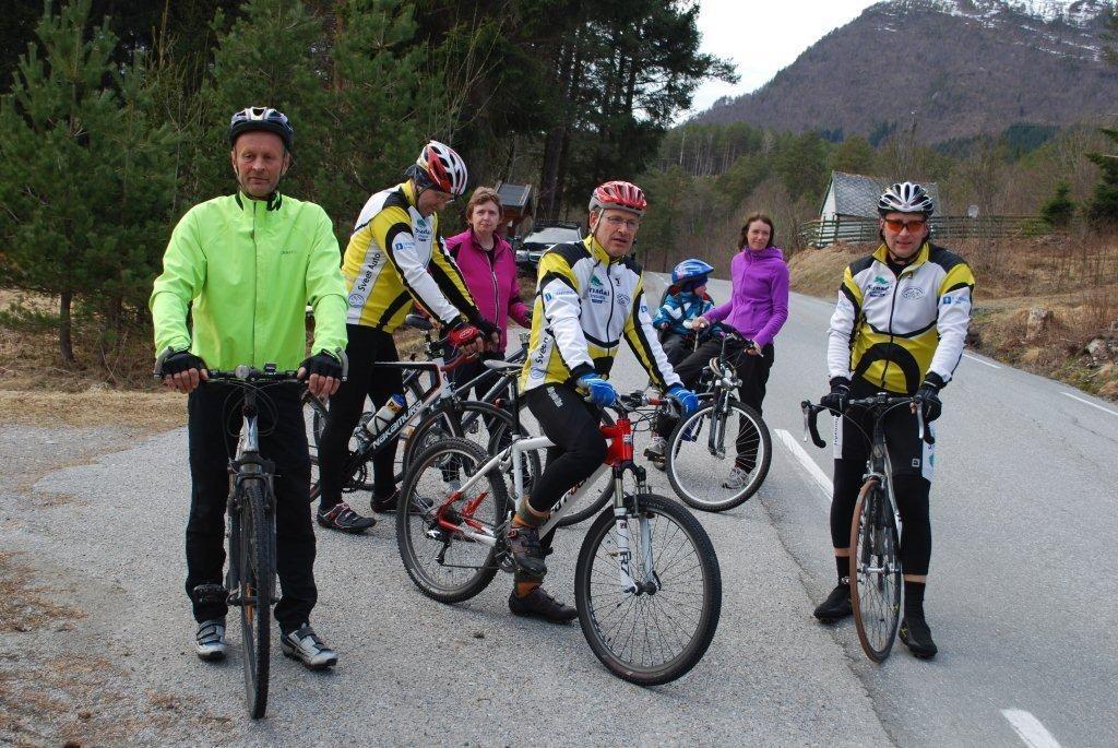 Sesongpremiere for sykkeltrimmen på Nordvik