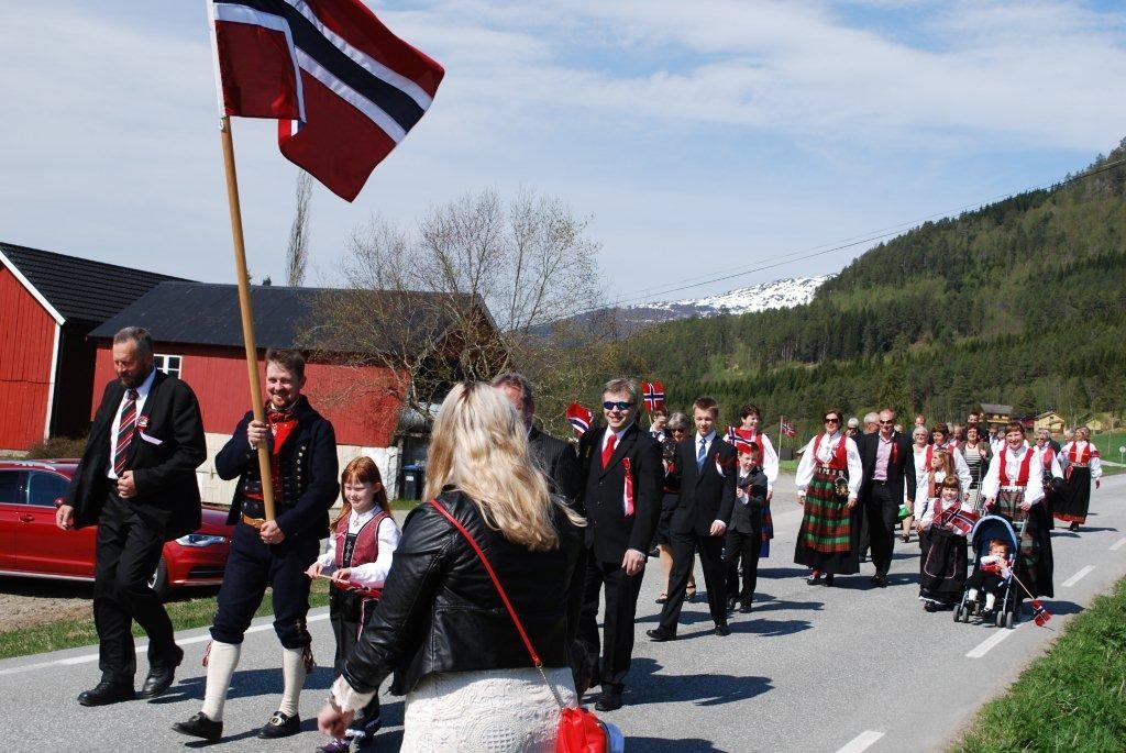 Nasjonaldagen  på  Nordvik