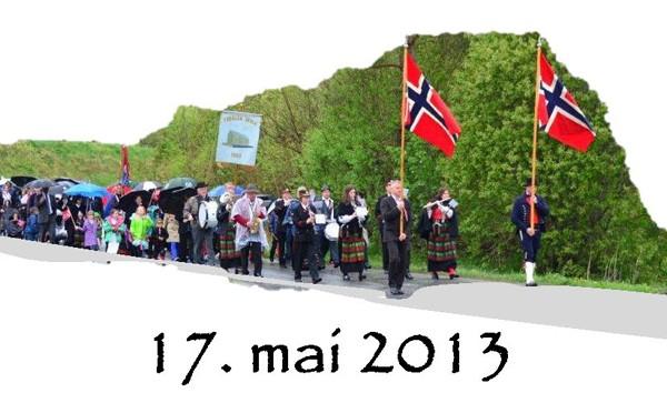 17.mai: Programmet er klart!