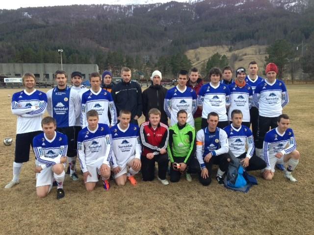 A-laget: Vant 1-3 mot Nordlandet
