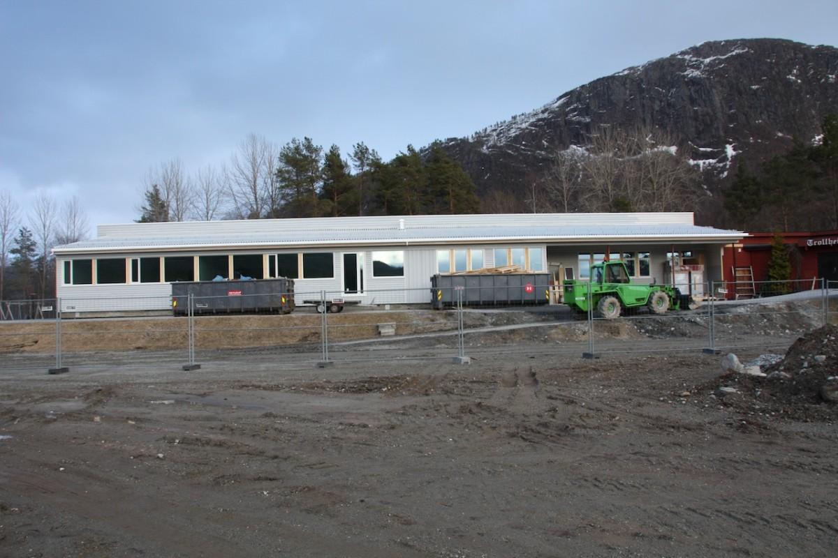 I rute til skulestart ved Stangvik oppvekstsenter