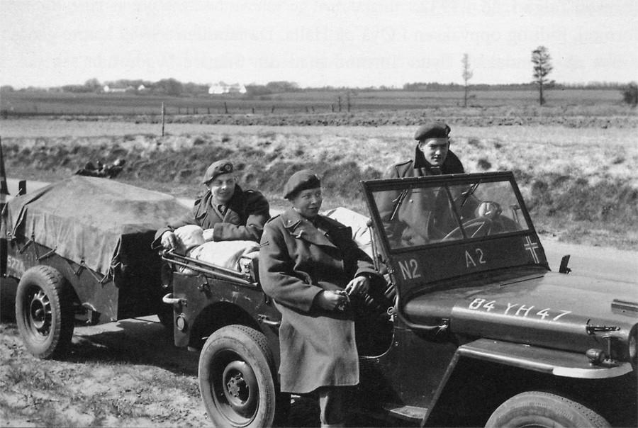 Tysklandsbrigaden  –  60  år  sia  heimreisa