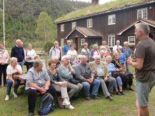 Postpensjonister på Todalstur….