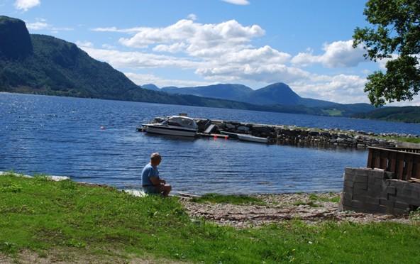 Gudsteneste  og  midtsommerfeiring  på  Nordvik