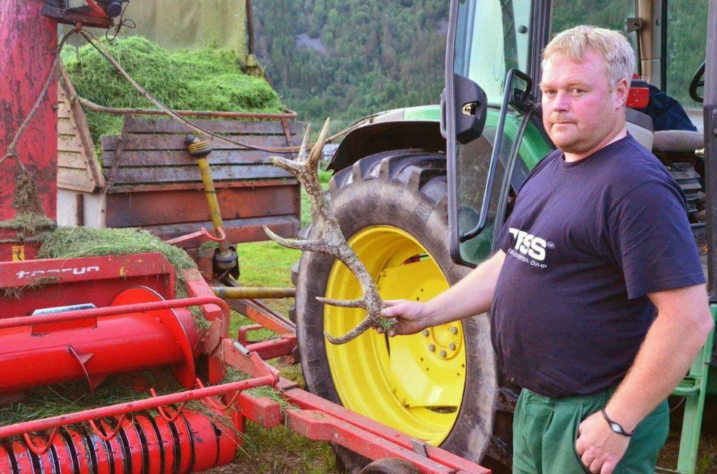 Ståle Ansnes vart ny leiar i Todalen bondelag Arkivfoto: Jon Olav Ørsal